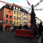 TTIP-Stand, Marktstätte 23. Januar 2016