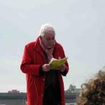 Anti-TTIP-Redner am Hafen: Jochen Kelter