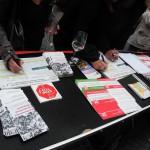 Unterschriften gegen Glyphosat