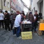 Sammeln für die Glyphosat-EBI